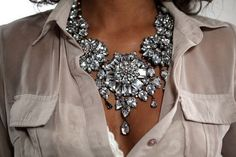 jaw dropping necklace *bling