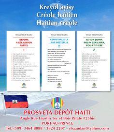 Haïti - Nouveaux fascicules en langue créole - Cliquer sur l'image pour plus d'informations / Haiti - New pamphlets in creole language!