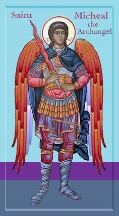 San Miguel Arcangel St Micheal, Saint Michael, Religious Icons, Religious Art, Angel Hierarchy, Russian Orthodox, Archangel Michael, Guardian Angels, Winter Art