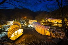 Glamping: Sleep in a worm :-) Archiworkshop