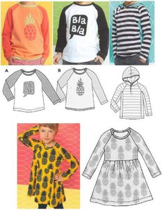 Como hacer camisas manga larga para niños y niñas c10a5eadfb9