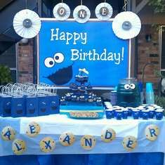 """P"" is for Party  - Cookie Monster"