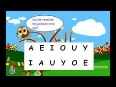 Voici une animation permettant de pratiquer la lecture des voyelles. Il est conseillé de la visionner  en mode plein écran si utilisée sur le tableau blanc, en cliquant sur les 4 flèches au bas. N'... Read In French, Learn French, French Teaching Resources, Teaching French, Communication Orale, French Worksheets, Core French, French Teacher, French Immersion
