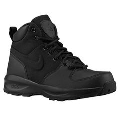 High fashion Casual Shoes Mens Nike ACG Manoa Black/Black/