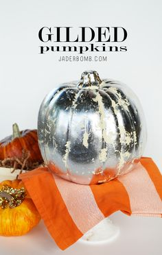 Pumpkin Decorating Ideas via jaderbomb.com