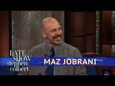 Maz Jobrani: Be Wary Of Trump's Opinions On Iran - YouTube Maz Jobrani, Weather Balloon, Late Night Talks, Cbs All Access, Big Group, Stephen Colbert, Live Tv, Funny Moments, Iran