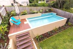 above ground rectangular pool in ground pool landscaping ideas rectangle pool id. above ground rectangular pool in ground pool landscaping ideas rectangle pool ideas swimming pool l Above Ground Pool Landscaping, Swimming Pool Landscaping, Small Swimming Pools, Above Ground Swimming Pools, Swimming Pool Designs, In Ground Pools, Lap Pools, Indoor Swimming, Pools For Small Yards