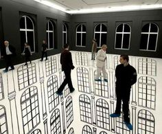 Disorienting Depth: Amazing Optical Illusions in Art Galleries