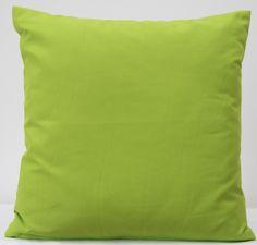 Poszewka z mikrowłókna na poduszkę jasnozielona