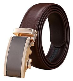 Xhtang Mens Ratchet Belt Automatic Buckle Genuine Leather belt 35mm Wide L Xhtang Ratchet Automatic Genuine Leather has high ratings and popularity and is a great buy in the highest selling products online in Luggage category in Canada. Click below to see its Availability and Price in YOUR country.