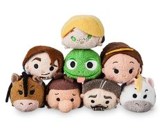 Tangled: The Series Mini ''Tsum Tsum'' Plush Collection Tsum Tsum Toys, Disney Tsum Tsum, Disney Pixar, Walt Disney, Disney Dream, Disney Trips, Disney Love, Disney Stuffed Animals, Tsumtsum