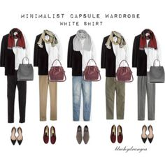 Minimalist Wardrobe - Fall 2015 - White Shirt