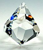 Original premium-kristall© Set: SWAROVSKI ELEMENTS Kegel 40mm - mit Laser-Siegel - Feng Shui Kristall Glas Set