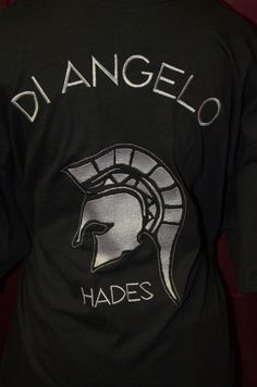 Camp Half-Blood, Adult T-Shirt, Nico Di Angelo Hades Cabin
