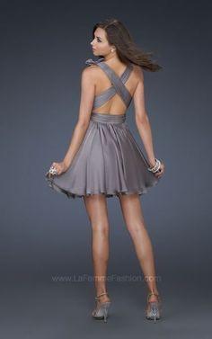 Nuevos Vestidos Cortos de La Femme Fashion.