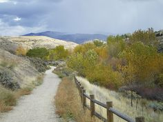 Hike the Boise foothills trails...one of my favorite places in the world with some of my favorite people.