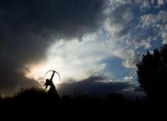 February 14, 2012: Sacred Rain Arrow Silhouette, photo by Chris Smith