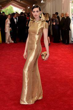 Anne Hathaway. Ralph Lauren 2015