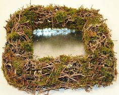 "10""x10"" Natural Pinar & Moss Square Container"