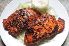 Spicy Grilled Chicken Breast with Step by Step Pictures. Grilled Chicken Breast is easy and juicy chicken breast. Grilled Chicken Breast Recipes, Perfect Grilled Chicken, Spicy Grilled Chicken, Marinated Chicken Recipes, Spicy Recipes, Curry Recipes, Indian Food Recipes, Cooking Recipes, Recipe Chicken