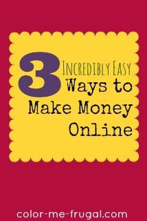 These days the frugal among us are hustlin' for extra cash. Looking for easy ways to make money online, by doing things you do already? Look no further! Money Making Ideas, Making Money, #MakingMoney