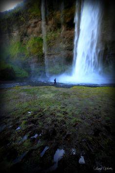 """Anywhere out of the world""  Seljalandsfoss waterfall, Iceland."