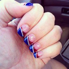Spring nail art, nail summer, spring nails, french tip nail designs, na Spring Nail Art, Spring Nails, Summer Nails, Glitter French Manicure, French Tip Nails, French Manicures, Manicure Colors, Manicure And Pedicure, Pedicures