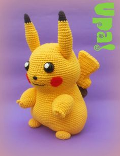 #Pikachu #Amiguruni #Crochet #Pokemon