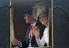 The Duchess arrived with Prince William for the couple's first ever appearance at Royal As...