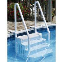Leslie S Easy Above Ground Pool Step Lp113 In 2020 Pool Steps Swimming Pool Steps In Ground Pools
