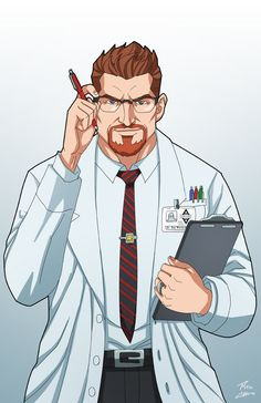 Dr. Roy Westerman by phil-cho on DeviantArt