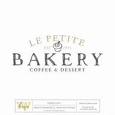 Premade Logo - Bakery Dessert Cupcake Logo - Boutique Logo