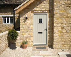 cottage door painted