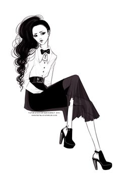 fashion sketching u_u