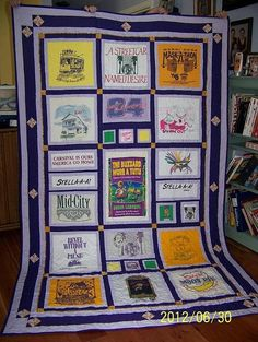 Tshirt Quilts Custom Made To Your Theme by TurtlestonesBoutique, $100.00