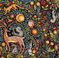 julie paschkis fabric - Google Search