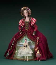 Art of Nancy Wiley featuring art dolls and paintings. Buy Lewis Carroll book Alice's Adventures in Wonderland photo illustrated with her Wiley's dolls. Visit her online gallery to see her painterly dolls and art. Toy Theatre, Clothespin Dolls, Half Dolls, Call Art, Ceramic Animals, Paperclay, Bisque Doll, Doll Maker, Adventures In Wonderland