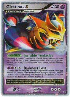 pokemon collector card | Pokemon Single Card Promo Holofoil Giratina Level X LV. X DP38
