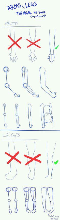 Leg & hand