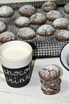 Chocolate crinkles ♥