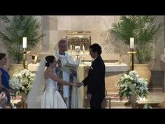 http://www.NaplesOriginalVideo.com/weddings ~  Our Bride and Groom's ceremony was beautiful in St. Peter The Apostle Church in Naples, FL.  During their vows, Isabelle and Jose could hardly take their eyes off each other.  Our newly married couple, along with their Bridal Party, defiantly had fun during their Gangnam Style Dance.    Naples' Original Video Productions wishes the newlyweds all the best.  Congratulations from NOVP.