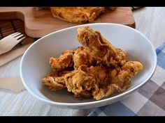 DISFRUTANDO DE LA COCINA: POLLO AL ESTILO KENTUCKY FRIED CHICKEN (KFC)