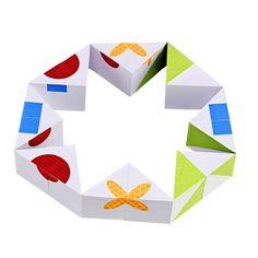 Puzzle cubos ilustrado - Innoarea para Imaginarium