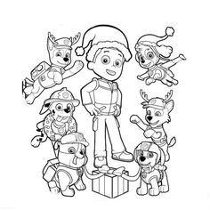 imprimir desenhos para colorir patrulha pata - Yahoo Image Search Results