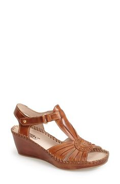 PIKOLINOS 'Margarita' Leather Wedge Sandal (Women) | Nordstrom