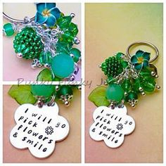 flowers and  green are the symbols of summer by Lisbeth Goossens on Etsy