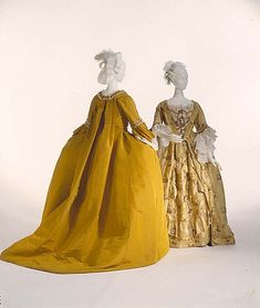 Dress (Robe à la Française)  Date: ca. 1775
