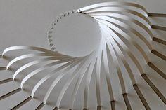 New origami architecture kirigami paper art ideas Architecture Origami, Installation Architecture, Pavilion Architecture, Architecture Design, Ouvrages D'art, Paper Art, Paper Crafts, Paper Book, Foam Crafts