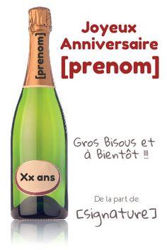 Personnalisé fabuleux numéros Flûtes à champagne anniversaire cadeau pour femmes 18th 21st