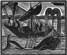 From the Book of Jonah, 1926 - David Jones CH, 1895-1974